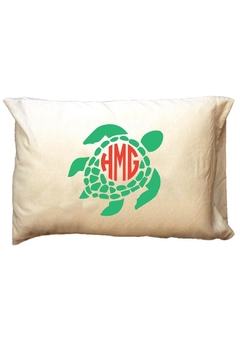 Shoptiques Product: Personalized Seaturtle Travel-Pillowcase