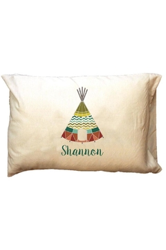 Shoptiques Product: Personalized Tee-Pee Pillowcase