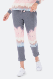 Bobeau Pascale Crop French Terry Joggers - Product Mini Image