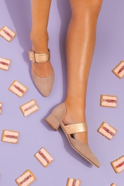 Pascucci Beige Heeled Pump - Other