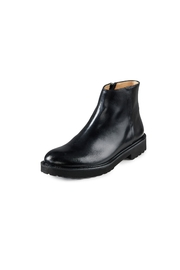 Pascucci Black Ankle Boots - Front full body