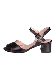 Pascucci Black Heeled Sandal - Product Mini Image