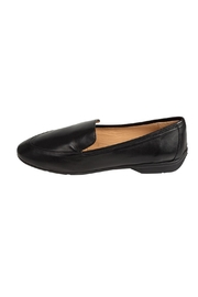 Pascucci Black Leather Loafer - Front cropped
