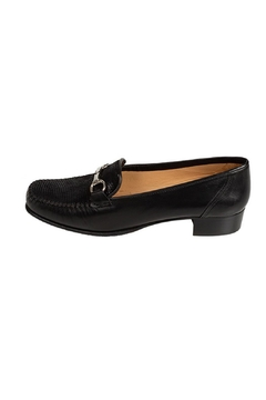 Pascucci Black Leather Loafer - Product List Image