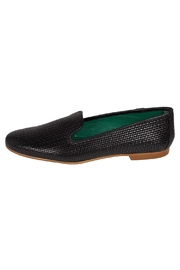 Pascucci Black Leather Smoking-Slipper - Product Mini Image