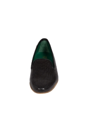 Pascucci Black Leather Smoking-Slipper - Side cropped