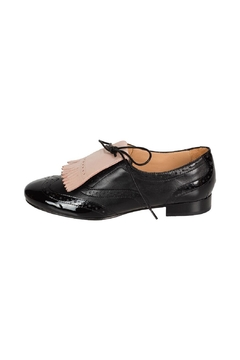 Pascucci Black Lether Brogue - Product List Image