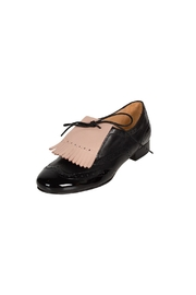 Pascucci Black Lether Brogue - Front full body