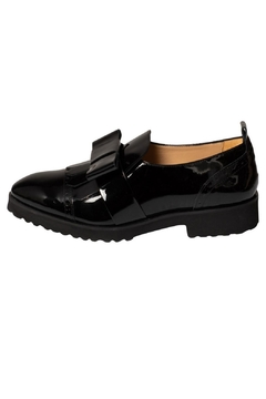 Shoptiques Product: Black Patent-Leather Loafer