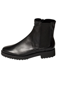 Shoptiques Product: Black Wool-Lined Ankle-Boots