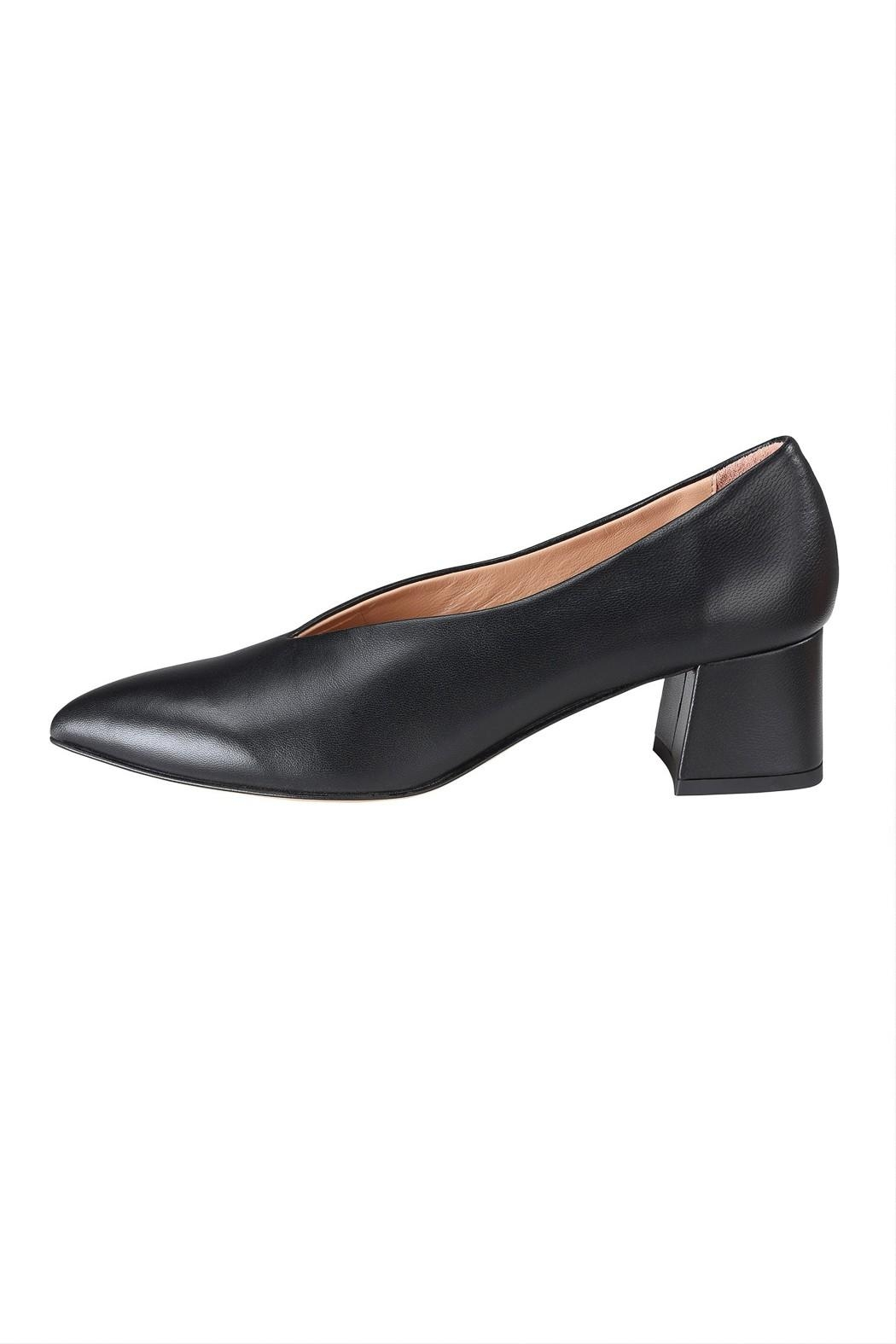 Pascucci Block Heel Pump - Front Cropped Image