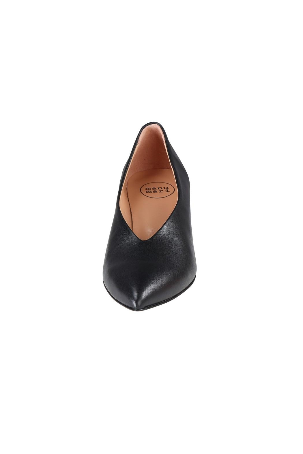 Pascucci Block Heel Pump - Side Cropped Image