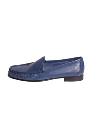 Pascucci Blue Leather Loafers - Product Mini Image