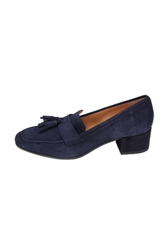 Pascucci Blue Suede Loafers - Product List Image