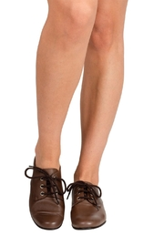 Pascucci Brown Leather Brogues - Back cropped
