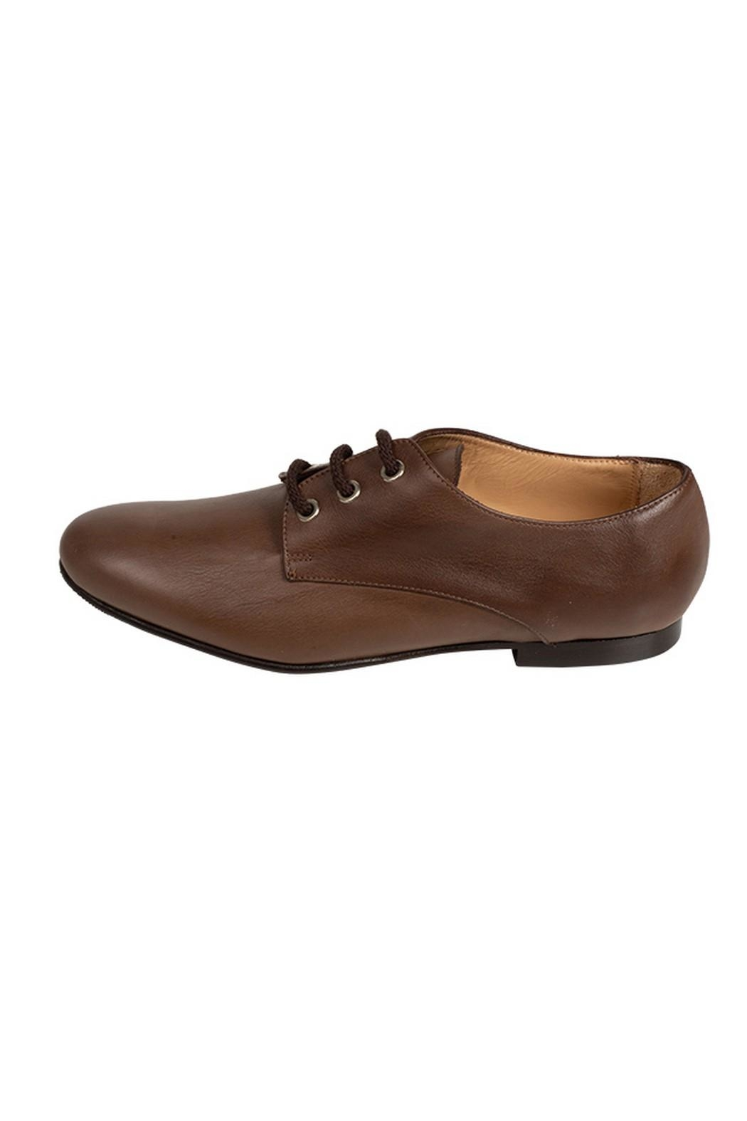 Pascucci Brown Leather Brogues - Main Image