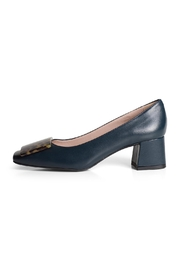 Pascucci Contrast-Blue Court Shoe - Product Mini Image
