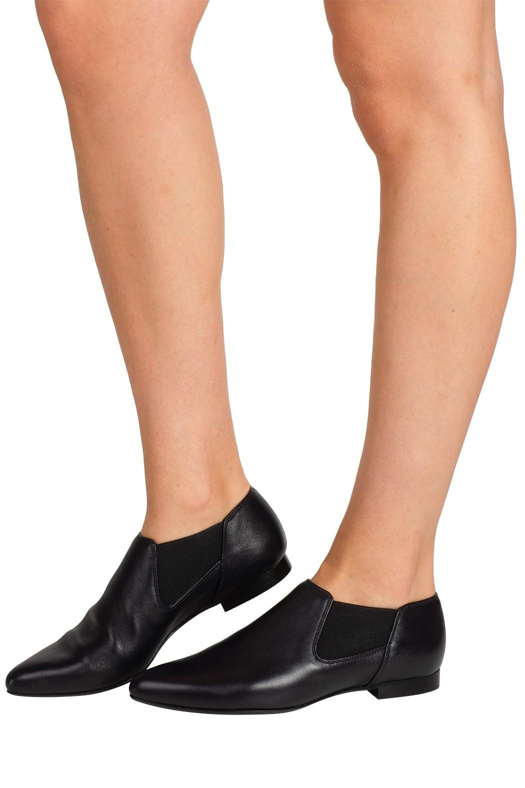 Pascucci Dark-Navy Ankle Bootie - Back Cropped Image