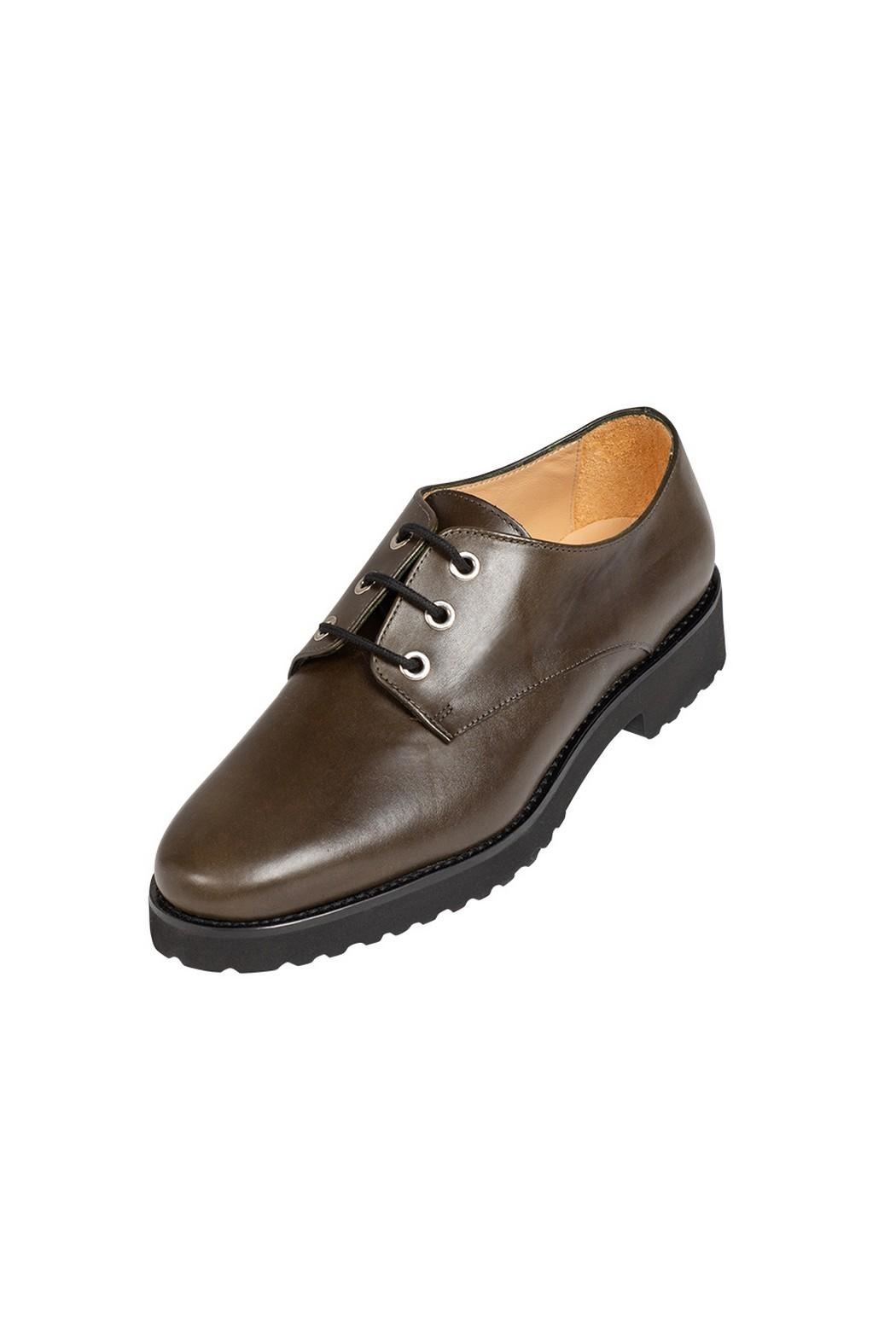 Pascucci Deep-Green, Leather, Brogue - Front Full Image