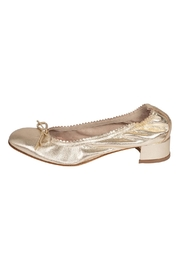 Pascucci Gold Heeled Ballets - Product Mini Image