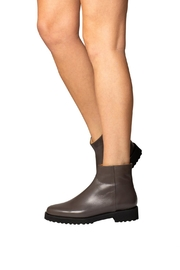 Pascucci Grey Leather Ankle-Boots - Other
