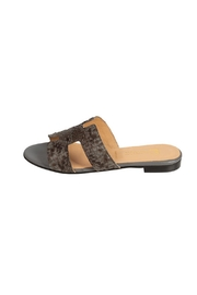 Pascucci Grey Snakeskin H-Slide - Product Mini Image