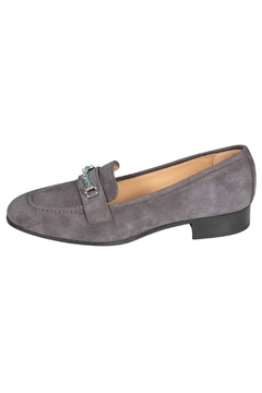 Pascucci Grey Suede Loafers - Product List Image