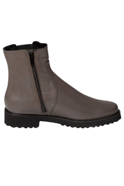 Pascucci Grey Wool-Lined Ankle-Boot - Back cropped