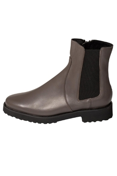 Shoptiques Product: Grey Wool-Lined Ankle-Boot