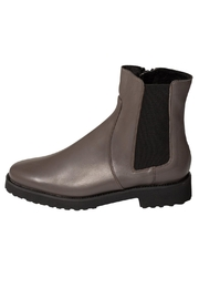 Pascucci Grey Wool-Lined Ankle-Boot - Front cropped