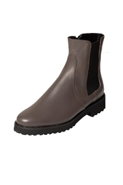Pascucci Grey Wool-Lined Ankle-Boot - Front full body