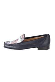 Pascucci Hand-Painted Navy Loafer - Product Mini Image