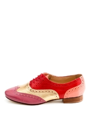 Pascucci Handmade Red Italian Brogue - Product Mini Image