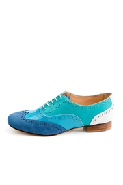 Pascucci Handmade Light Blue Brogue - Product Mini Image