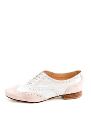 Pascucci Handmade White Italian Brogue - Product Mini Image