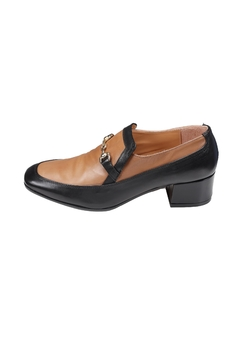 Pascucci Heeled Two-Tone Loafer - Product List Image
