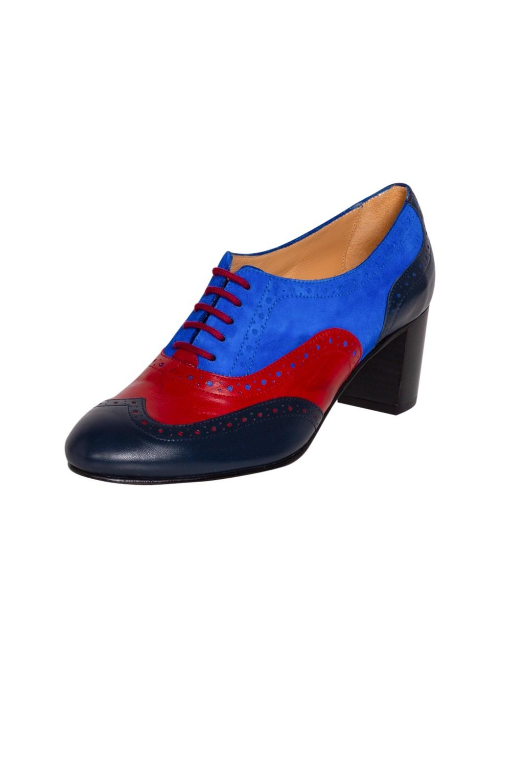 Pascucci High Heel Brogue - Front Full Image