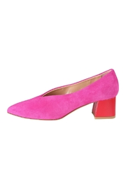 Pascucci Hot-Pink Suede Pumps - Product Mini Image