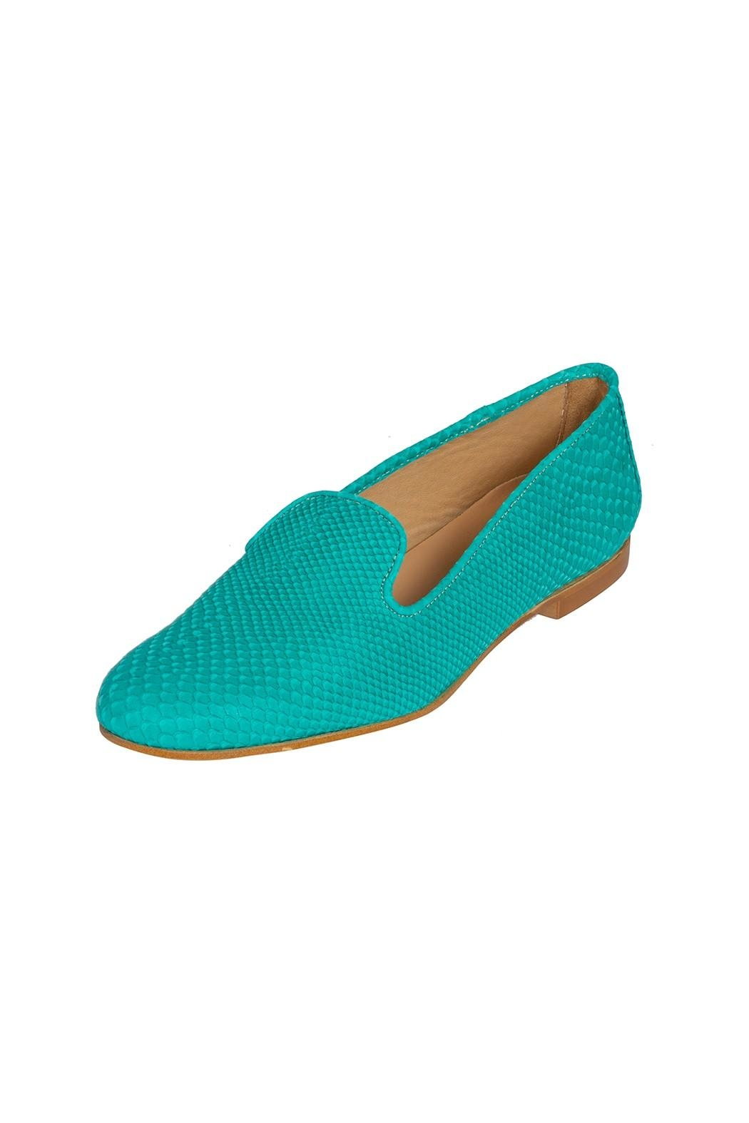 Pascucci Leather Bright Slippers - Front Full Image