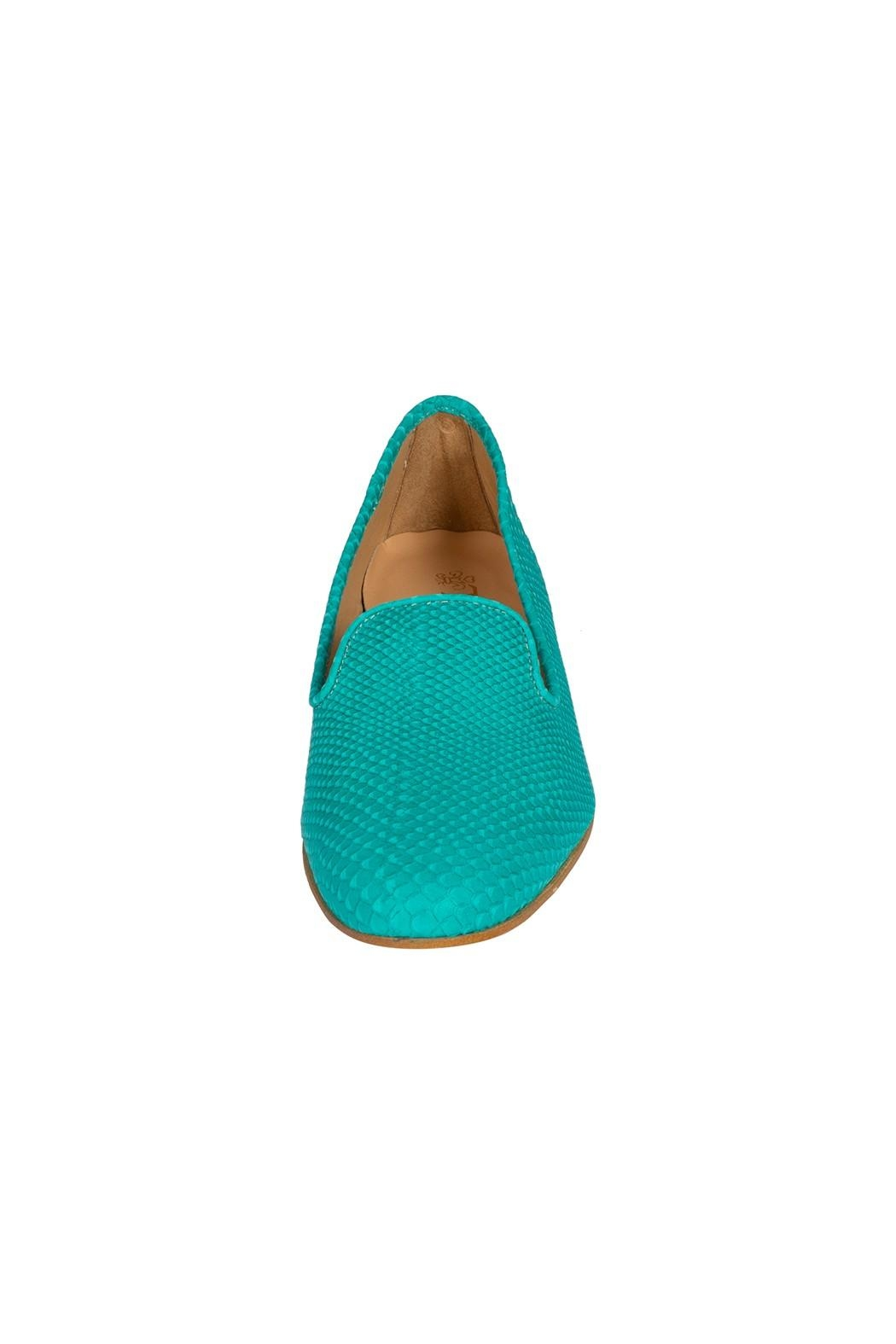 Pascucci Leather Bright Slippers - Side Cropped Image