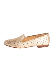 Pascucci Leather Perforated Loafers - Product Mini Image