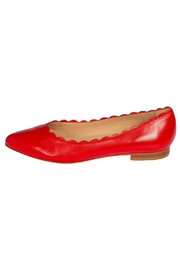 Pascucci Leather Red Ballet-Flat - Product Mini Image