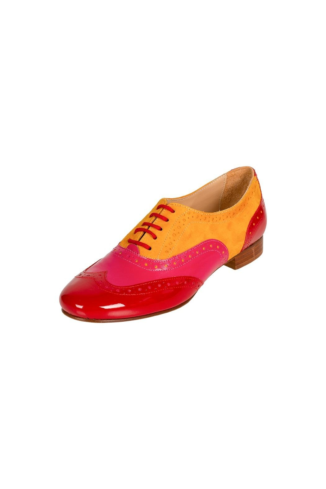 Pascucci Leather Suede Brogue - Front Full Image