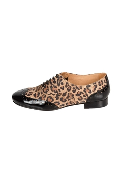 Pascucci Leopard Leather Brogue - Product List Image
