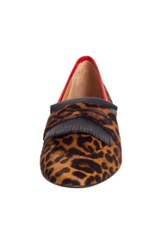 Pascucci Leopard-Print Penny Loafer - Side cropped