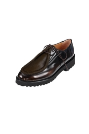 Pascucci Lighweight Sole Brogue - Front full body