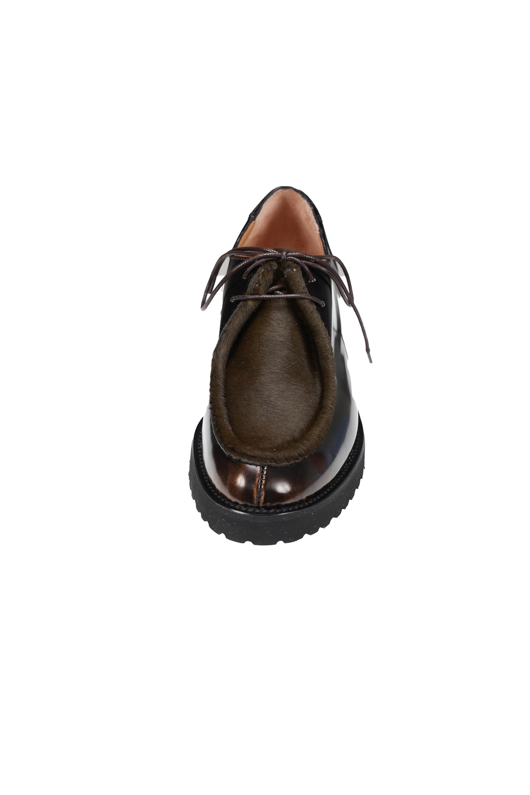 Pascucci Lighweight Sole Brogue - Side Cropped Image