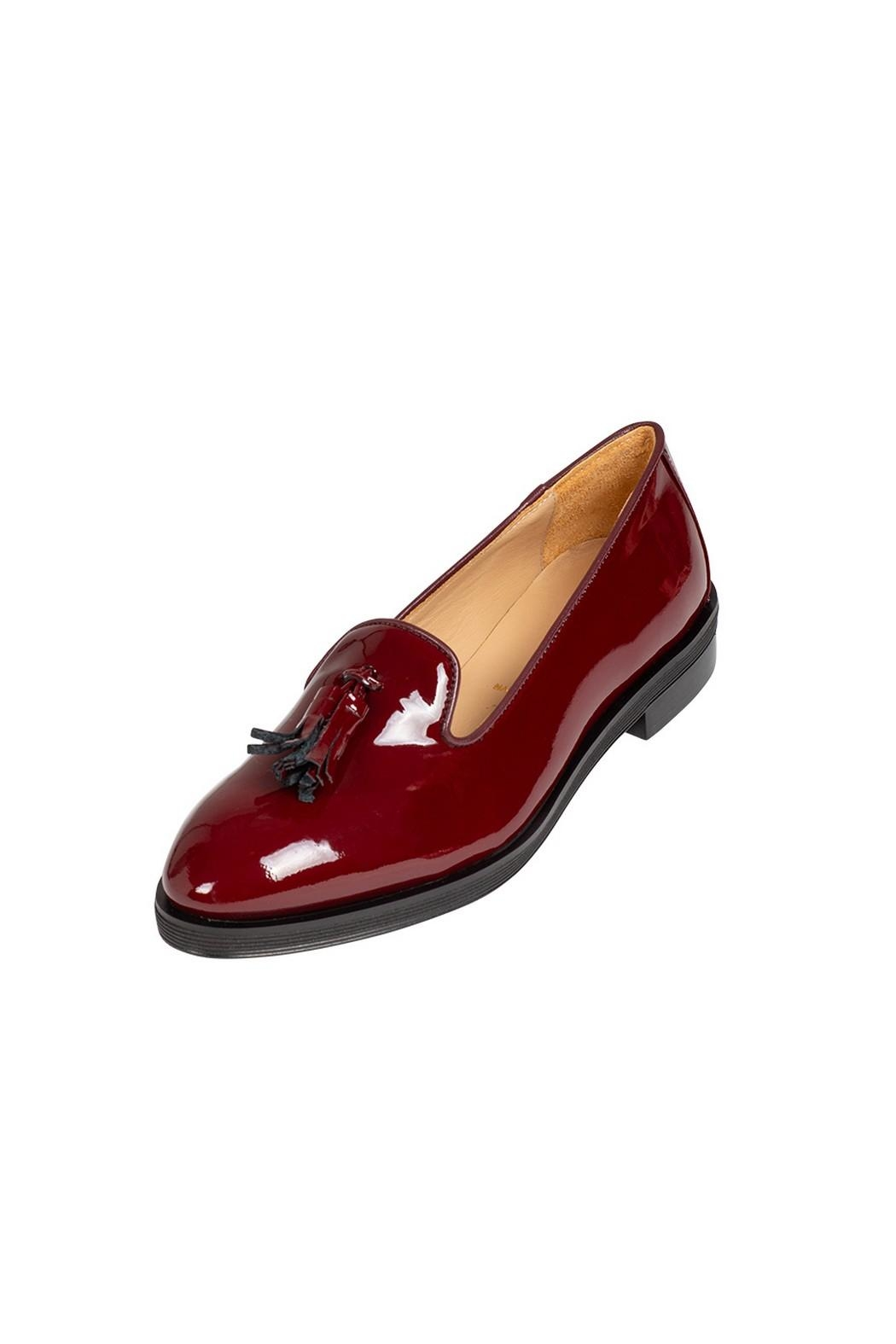Pascucci Loafer With Tassel - Front Full Image
