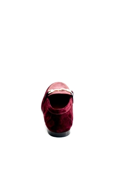 Pascucci Maroon Leather Loafer - Alternate List Image
