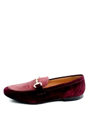 Pascucci Maroon Leather Loafer - Product Mini Image